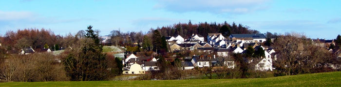 Gartmore is surrounded by rolling hills and forest walks